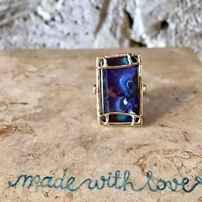 BLUE NILE OPAL RING