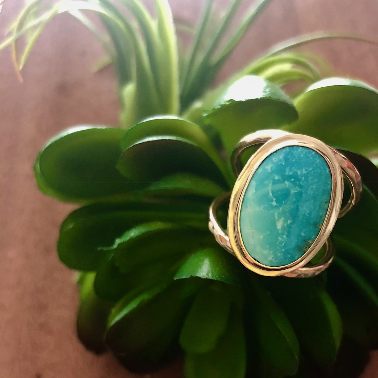 Be Tulum Persian Turquoise Ring
