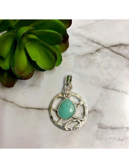 TURQUOISE WAVES PENDANT