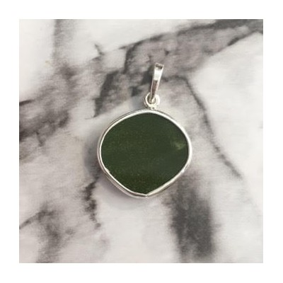 Green Moss Chaney Pendant