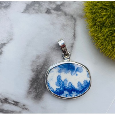blue forest chaney pendant