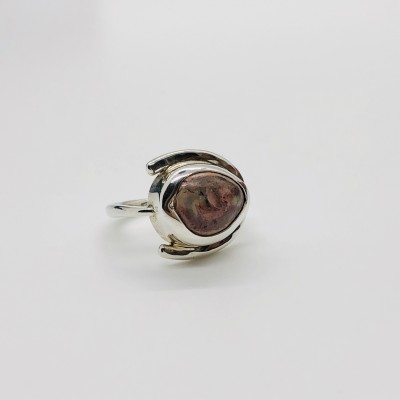 STARDUST MEXICAN OPAL RING