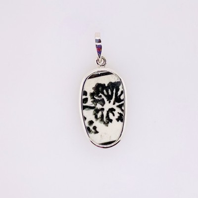 Ink Splatter Chaney Pendant