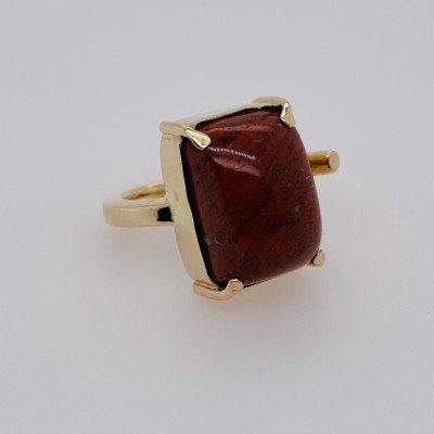 Nature Isle Red Jasper Ring