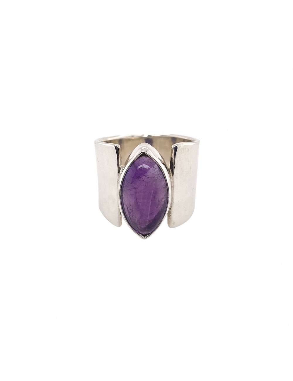 Marquise Amethyst Ring