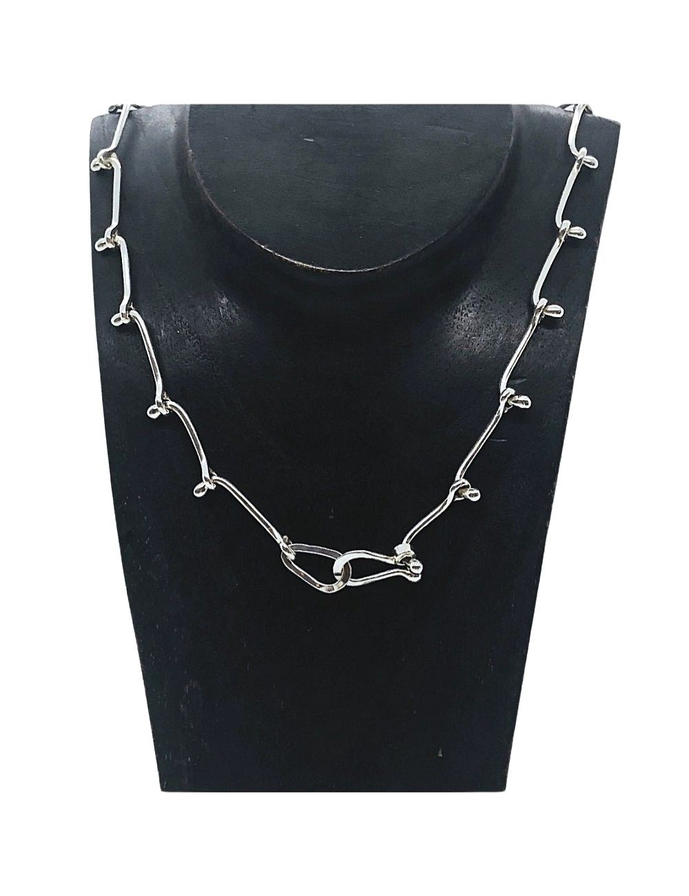 Ball and Link Necklace