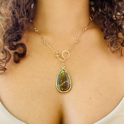 MAGICAL BOULDER OPAL